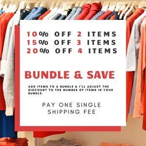 ❤️ BUNDLE & SAVE  ❤️10% - 20% OFF ❤️